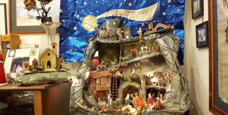 Neapolitańska szopka święteczna